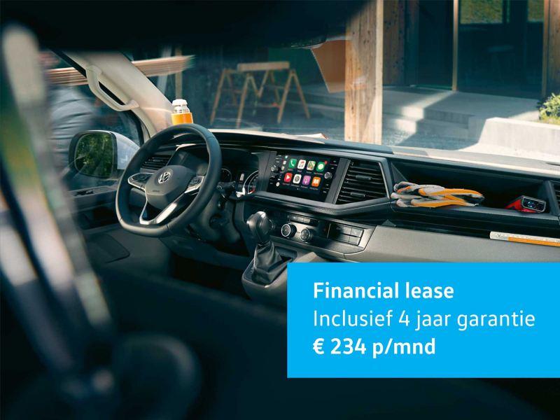 Transporter 6.1 Financial lease vanaf € 234