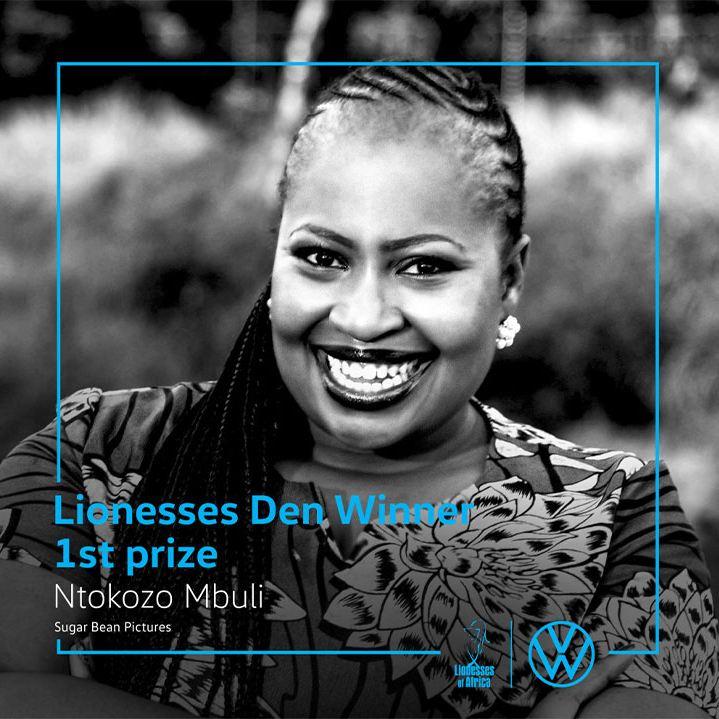 First prize – R100 000 – Ntokozo Mbuli