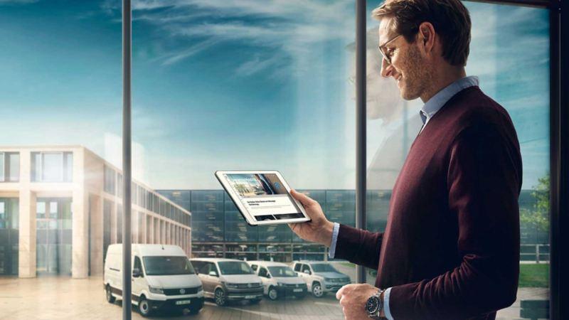 vw Volkswagen biladministrasjon kontrakt Fleetweb