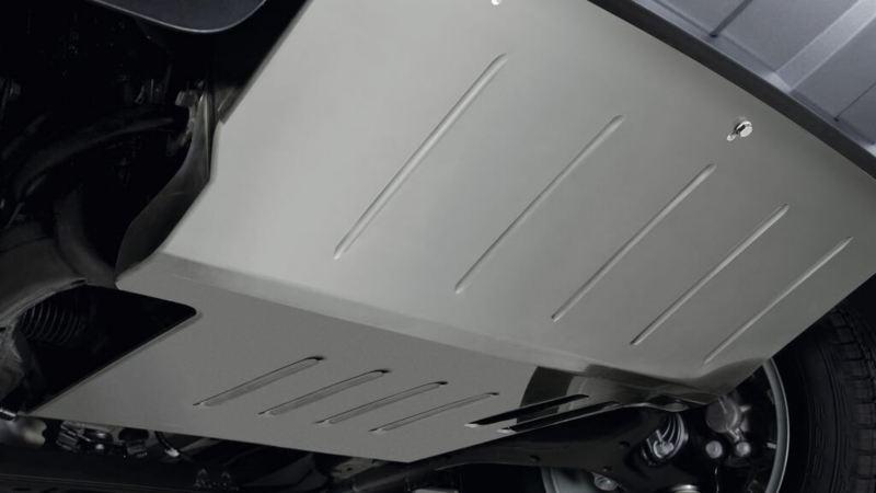 Amarok met motorbeschermplaat