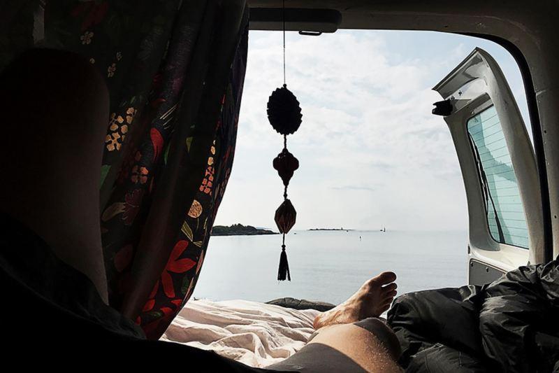 Frihet i en VW Caddy