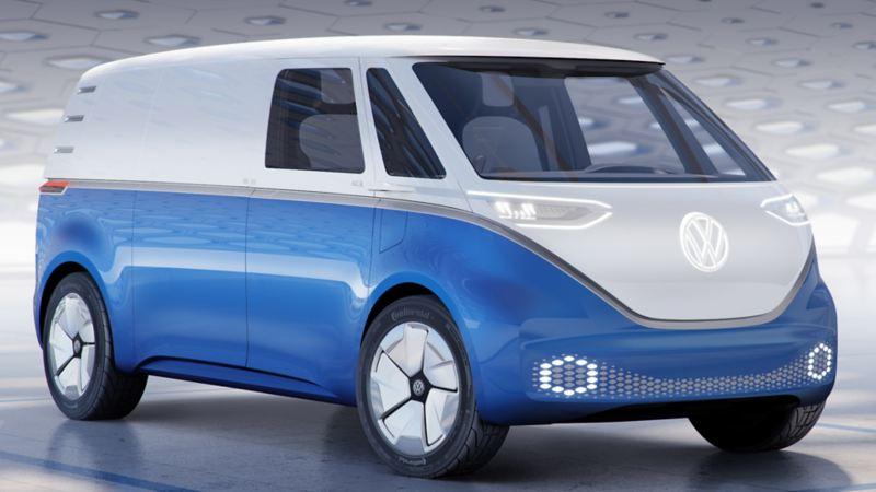 vw Volkswagen id buzz cargo elektrisk varebil elbil elvarebil el varebil elvarebiler elbiler