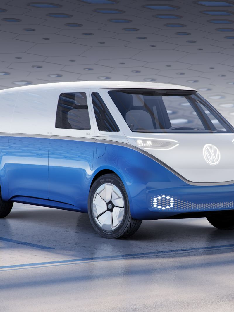 vw Volkswagen elbil elektrisk varebil el utslippsfri miljøvennlig e-Crafter Caddy TGI biogass gassdreven liten varebil kassebil ID. Buzz Cargo