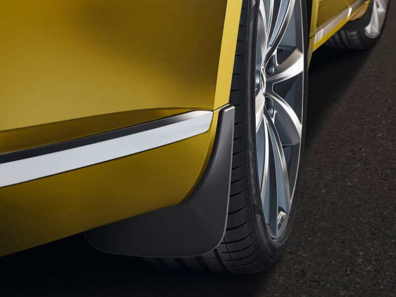 Mud flaps front