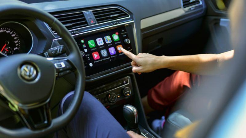 Funciones de Wireless App Connect. Conecta tu smartphone y contrólalo desde la pantalla de tu auto