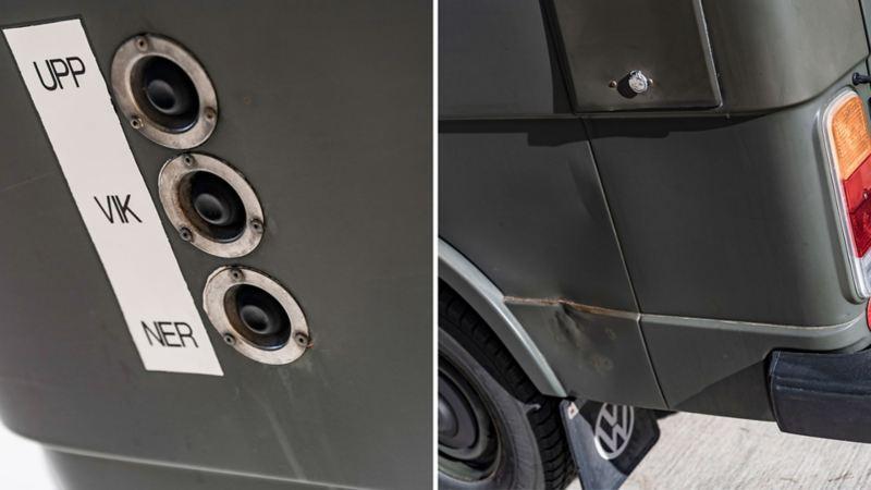 Detaljer, VW LT31