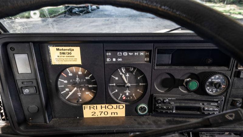 Instrumentpanel i VW LT31