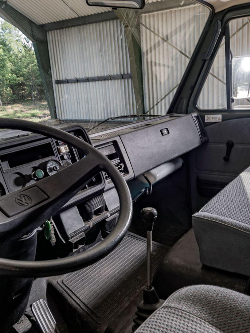 Interiören i VW LT31