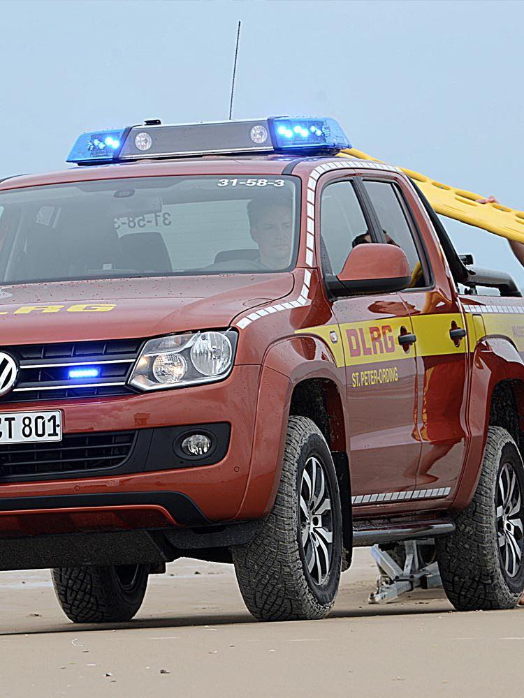 Volkswagen Amarok som livräddare