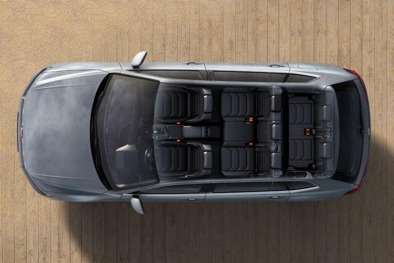 폭스바겐 모델 티구안 올스페이스 갤러리 7인승 좌석