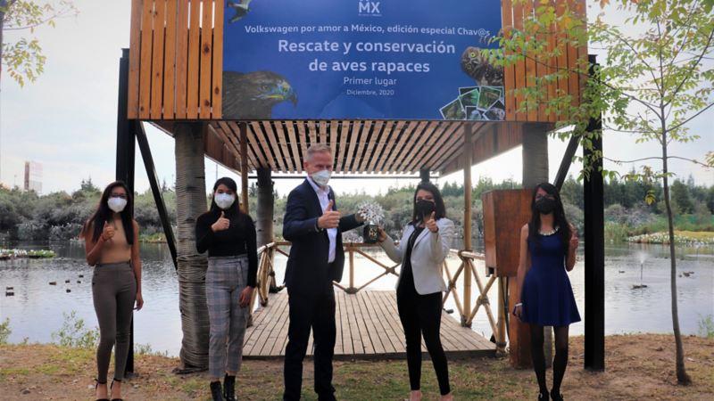 Ganadoras de Concurso Por Amor a México, Ch@vos Edición 2020. Descubre el proyecto ecológico ganador