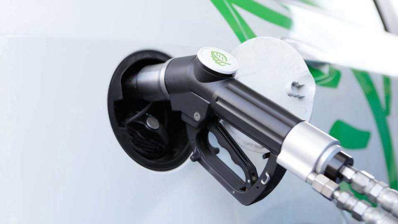 vw Volkswagen Caddy TGI biogass gassdreven varebil liten miljøvennlig familiebil gasstanking fyllestasjon gass biogass