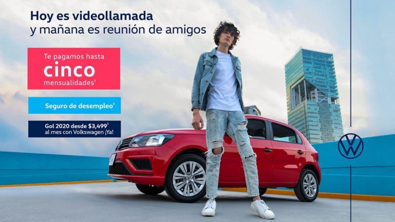 Gol 2020, el auto compacto en oferta de Volkswagen durante el mes de mayo
