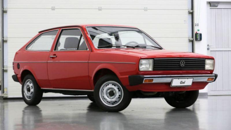 Gol G1, la primera generación del hatchback de Volkswagen en el año 1980