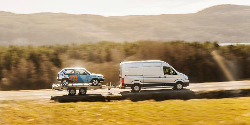 Craftertransport av rally-Golf