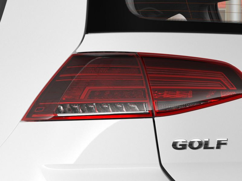 Some beautiful tail lights on the Golf