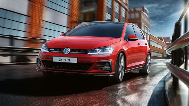 Golf gti front view