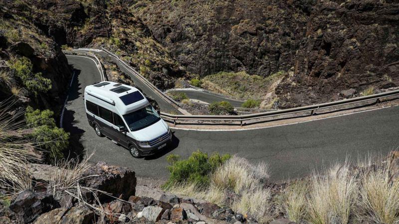 På upptäcksfärd med Volkswagen Grand California husbil
