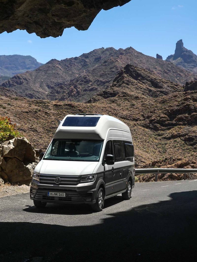 Volkswagen Grand California husbil på Gran Canaria