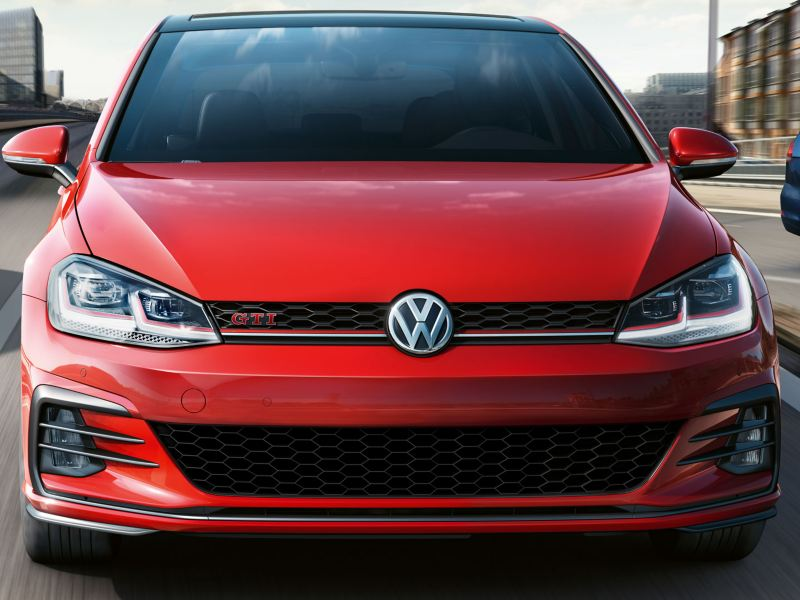 Exterior design of the Golf GTI