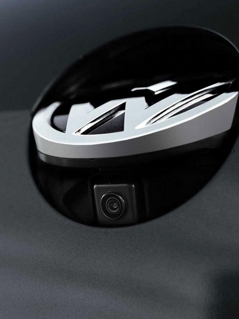 Caméra de recul en action sur la Golf GTI