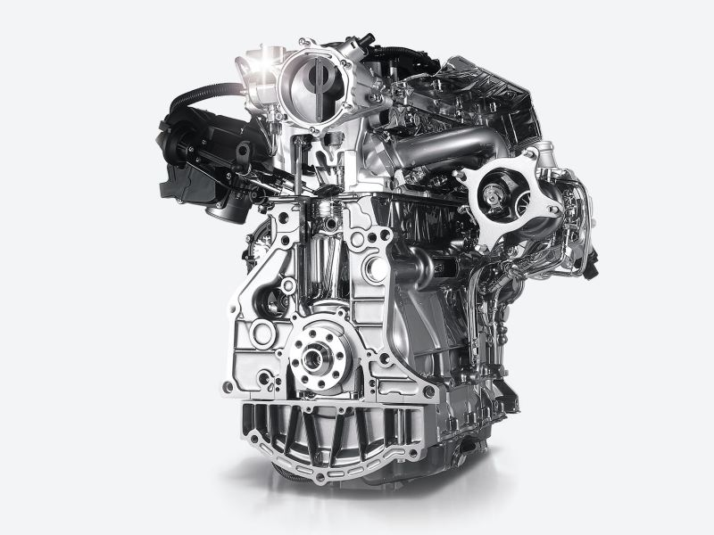 Le puissant moteur de la Golf GTI