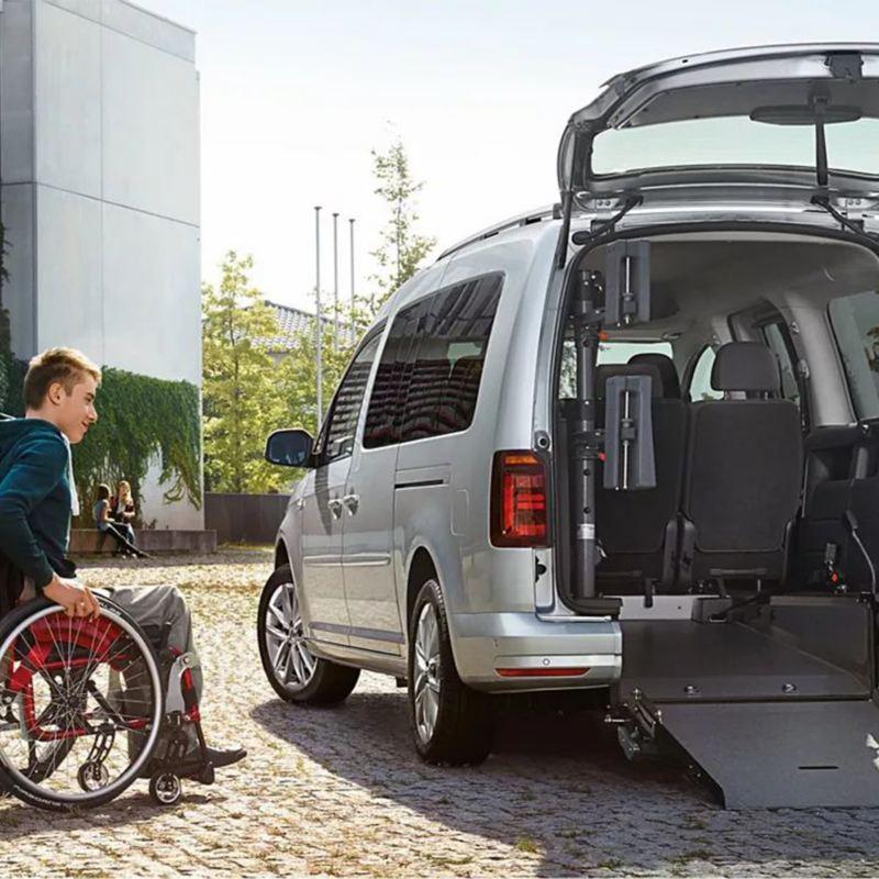 Caddy transport de personne à mobilité réduite