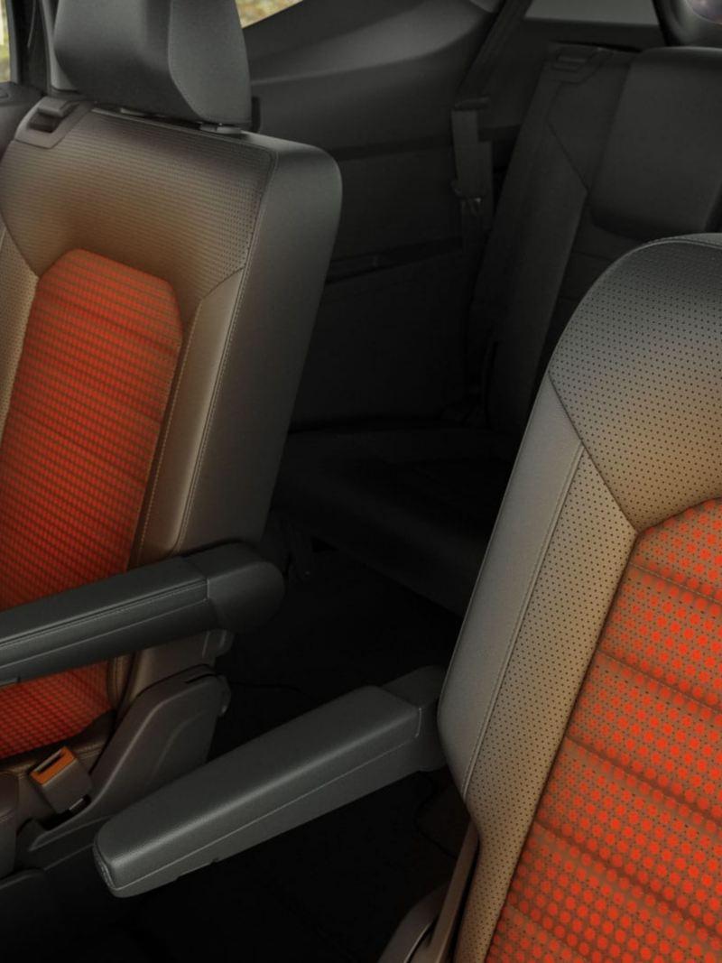 Les sièges arrières chauffants de l'Atlas