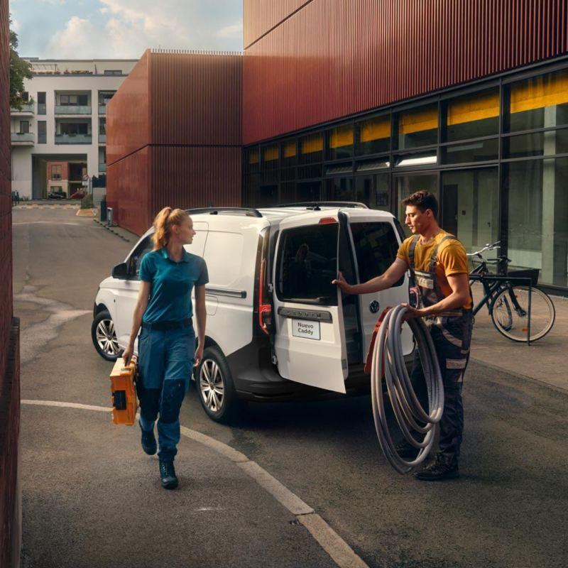 Volkswagen Caddy Cargo Van
