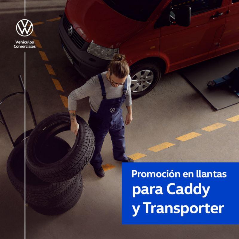 Promoción en llantas para Caddy y Transporter