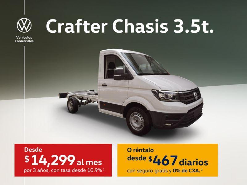 Promoción Crafter Chasis 2020