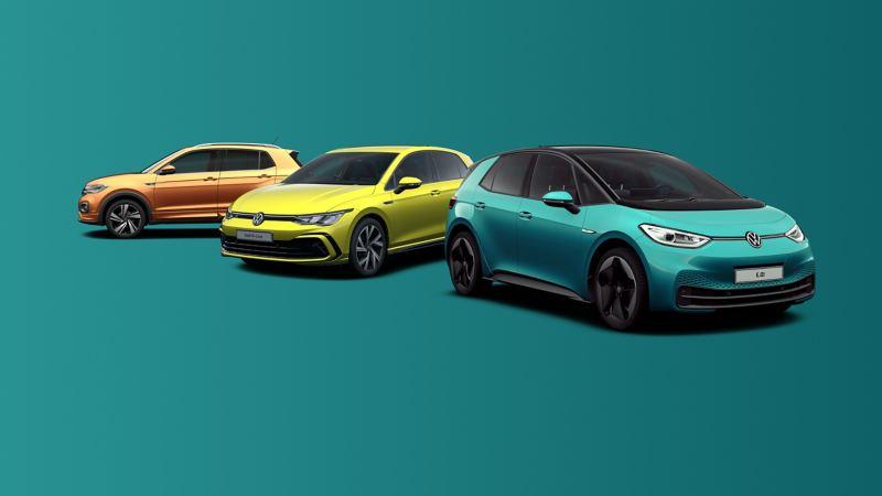 The Volkswagen electric car range