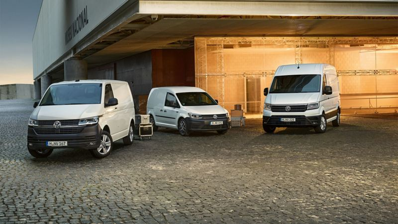 Volkswagen Transporter, Caddy ja Crafter PRO