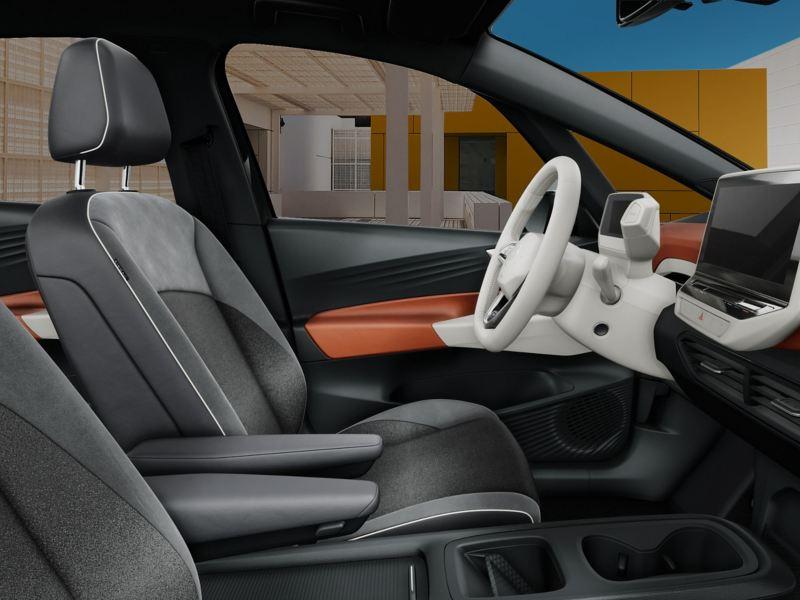 Interni particolare comfort seduta di ID.3 1st Plus Volkswagen