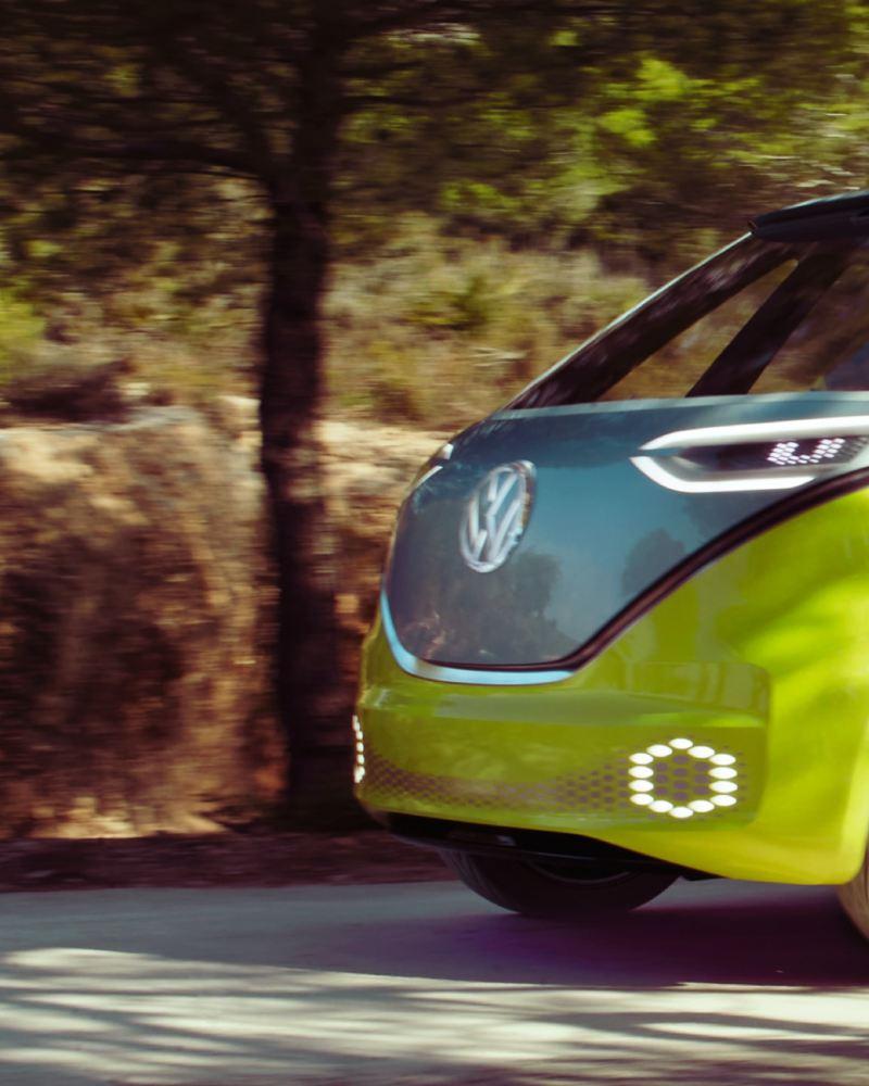 carrinha Pão de Forma elétrica VW ID. Buzz