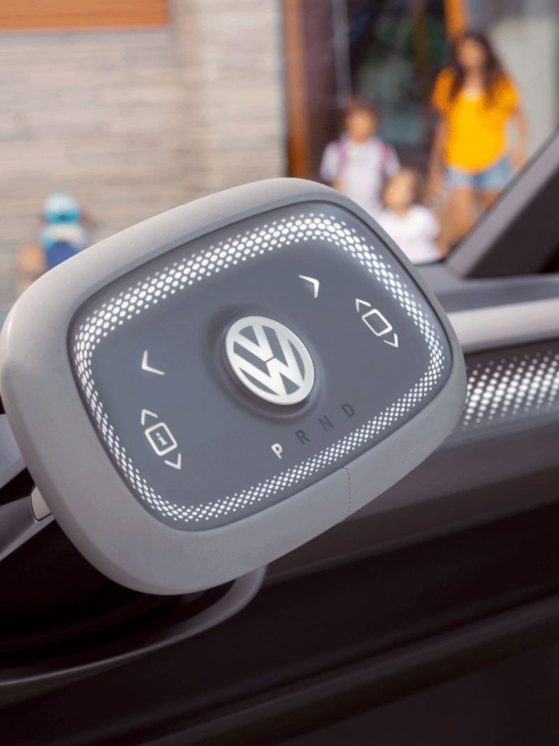 vw Volkswagen ID. Buzz stor elbil elektrisk personbil familiebil ratt førerhus