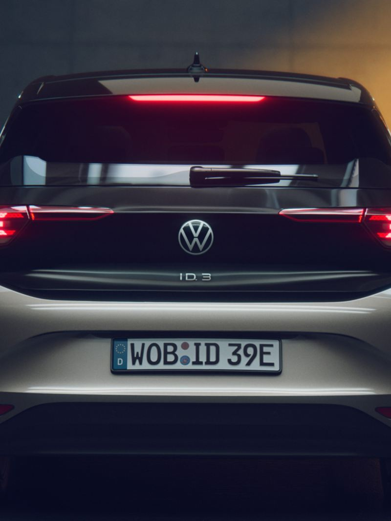 Rear of the VW ID.3 1ST