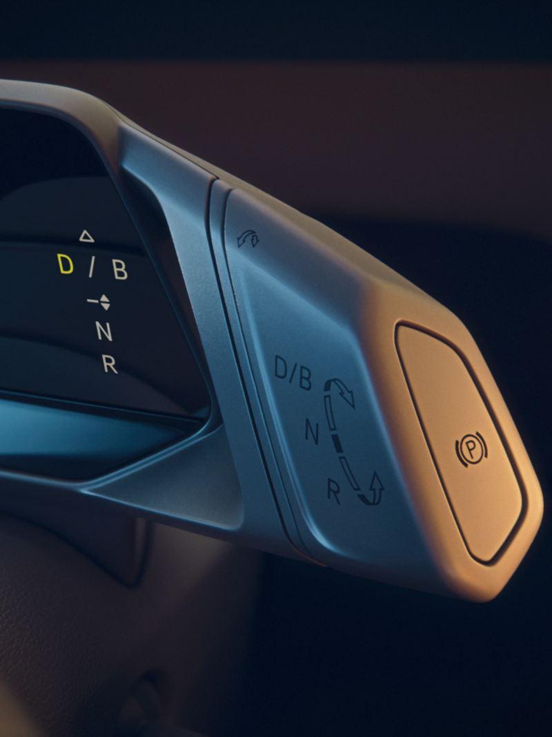 L'interrupteur à bascule pour la marche avant et la marche arrière dans la VW ID.3 1ST
