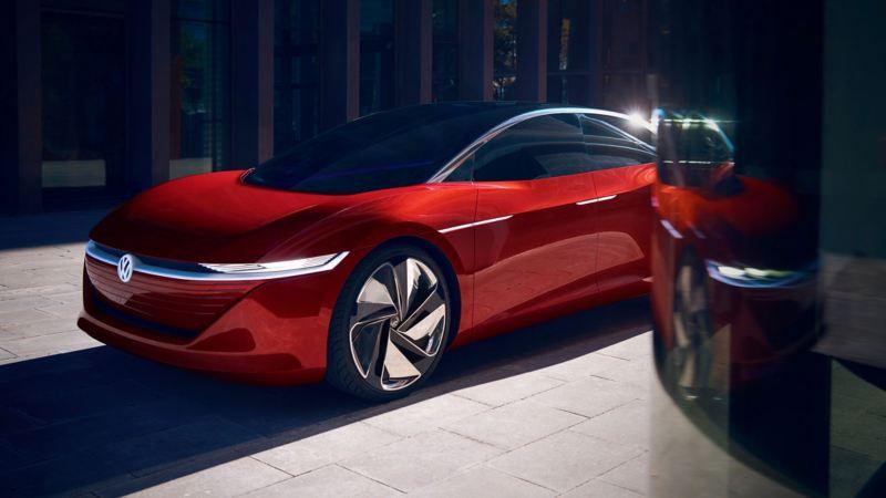 Visuel de concept car pour Volkswagen Magazine