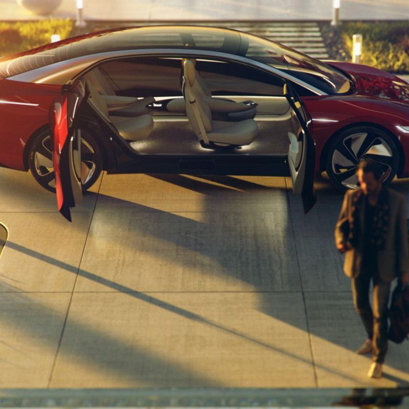 I.D. VIZZION, auto eléctrico sedán de Volkswagen