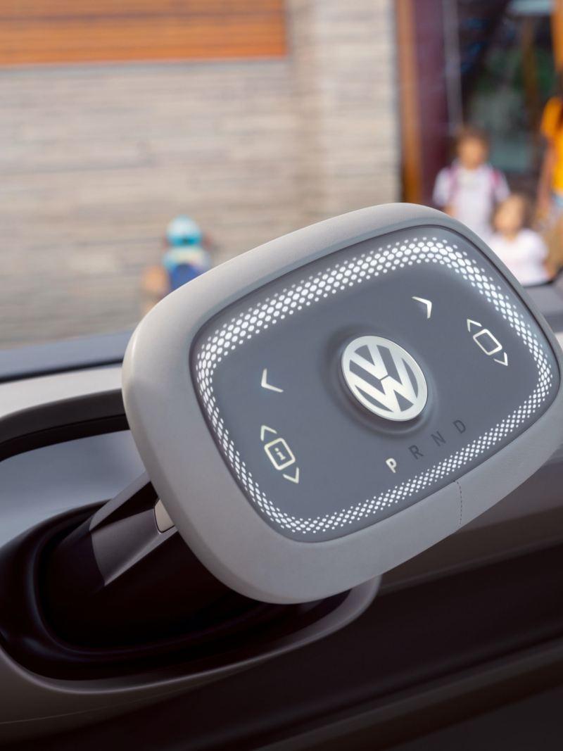 O volante com touchpad do Volkswagen ID. Buzz.
