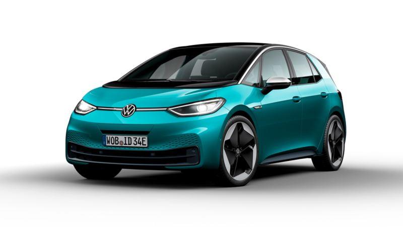 Volkswagen ID.3 in sosta