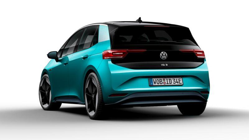 Volkswagen ID.3 vista posteriore