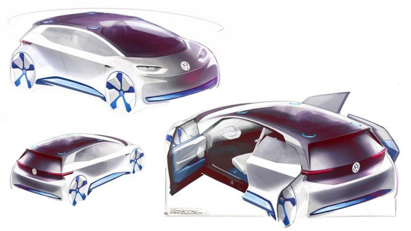 Prototipi di Volkswagen ID.3