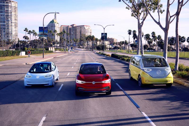 Familia ID. Volkswagen coches eléctricos