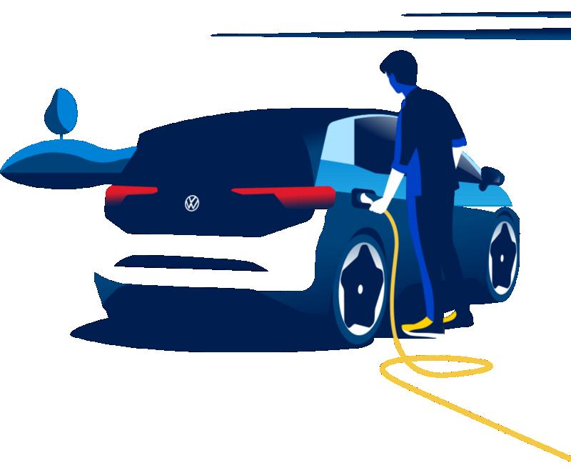 Volkswagen ladeboks hjemmelading elbil