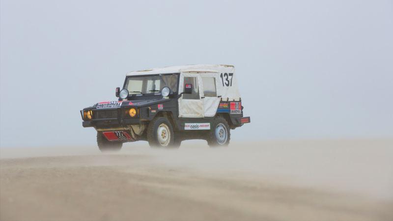 Liknar det öknen i Dakar?