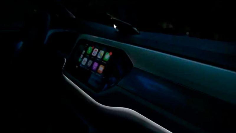 Iluminacón interior de Nuevo T-Cross de Volkswagen