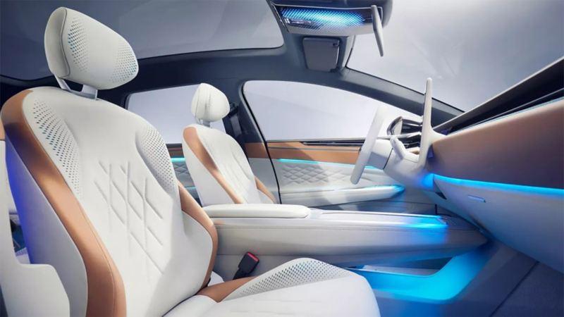 Intérieur de la Volkswagen ID. SPACE VIZZION.
