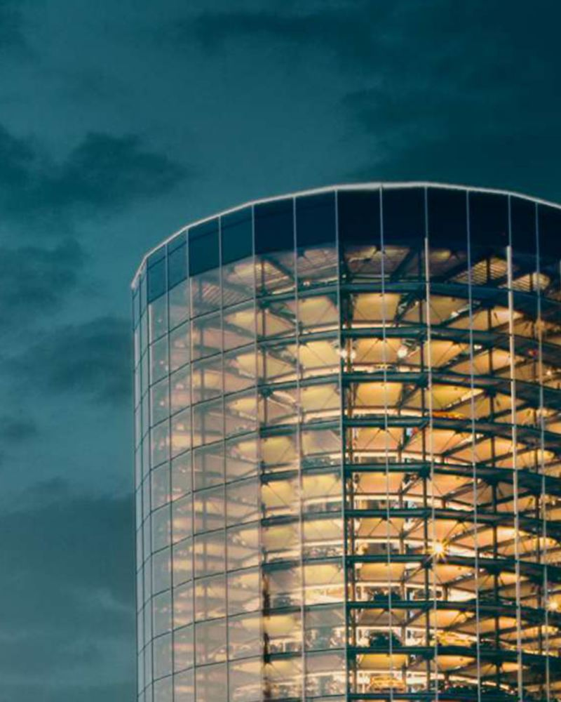 Image du siège social de Volkswagen, lien vers la page de présentation de l'entreprise